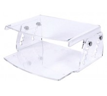 Height Adjustable Acrylic Monitor Stand 550