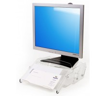 Height Adjustable Acrylic Monitor Stand 570