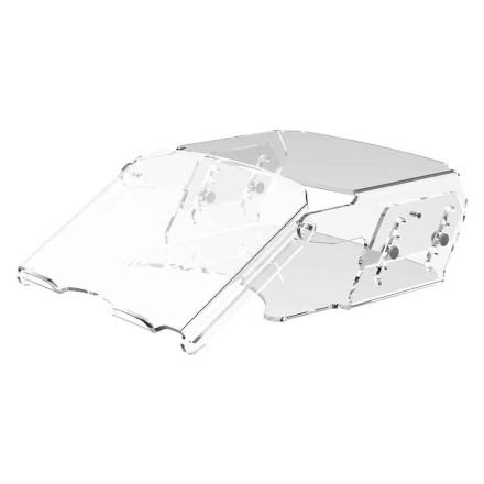 Height Adjustable Acrylic Monitor Stand 570
