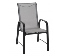 Paloma Steel Patio Dining Chairs, Pack of 6