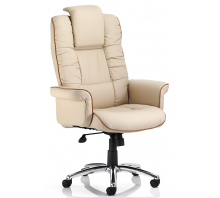 Chelsea High Back Executive Bonded Leather Chair With Arms