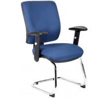 Chiro Visitor Cantilever Chair with Arms