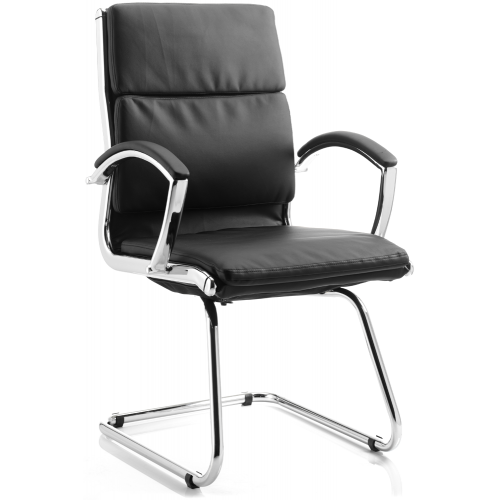 Classic Visitor Cantilever Chair With Arms