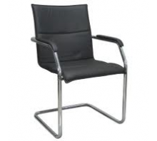 Echo Leather Cantilever Office Chair
