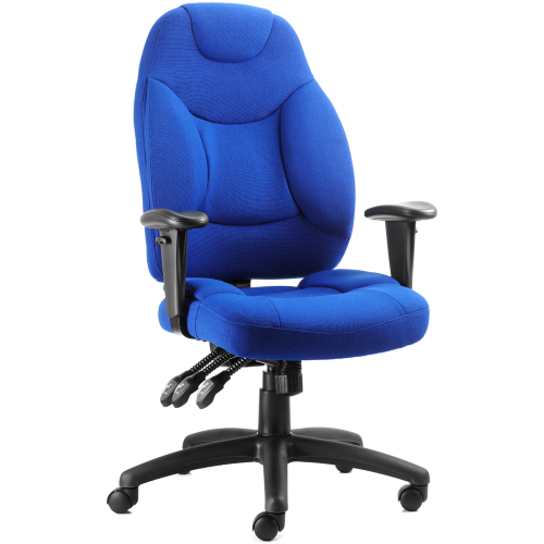 Galaxy Medium Back Fabric Task Operator Chair with Arms