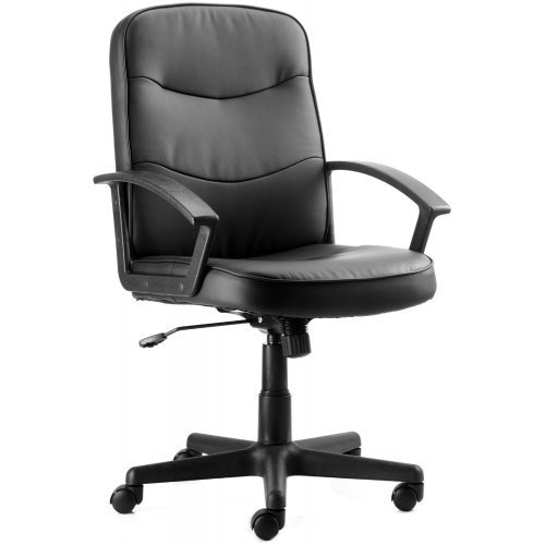 Harley Medium Back Leather Executive Chair with Arms