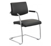 Havanna Leather Cantilever Office Chair