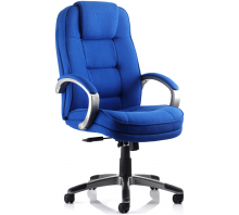 Monterey Fabric High Back Executive Chair with Arms