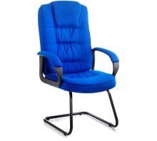 Moore Fabric Cantilever Visitor Chair with Arms
