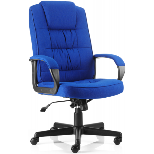 Moore Fabric High Back Executive Chair With Arms