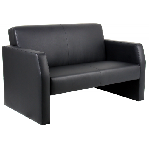 Oracle Leather Twin Break Out And Reception Sofa