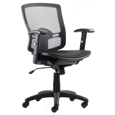 Palma Mesh Medium Back Task Operator Chair with Arms