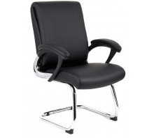 Romeo Folding Cantilever Visitor Chair with Arms