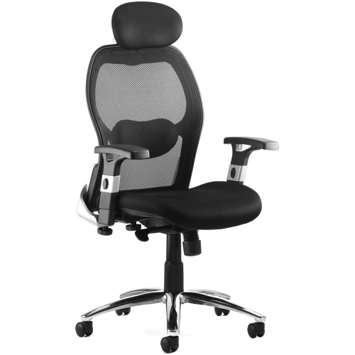 Sanderson Mesh High Back Executive Chair with Arms