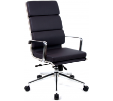 Savoy High Back Bonded Leather Executive Chair with Arms