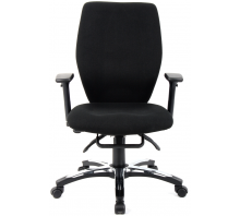 Sierra High Back Fabric Executive Chair with Arms
