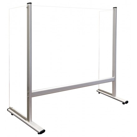 Acrylic Counter and Desk Protection Screens with Side Panels