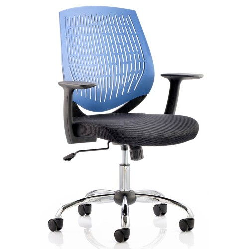 Dura Nylon Back Task Operator Chair With Arms