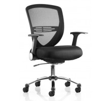 Iris Mesh Back Task Operator Chair with Arms