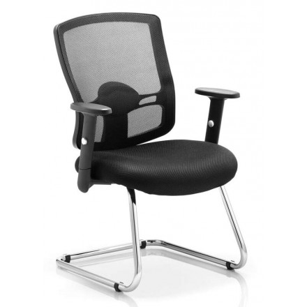 Portland Cantilever Chair with Arms