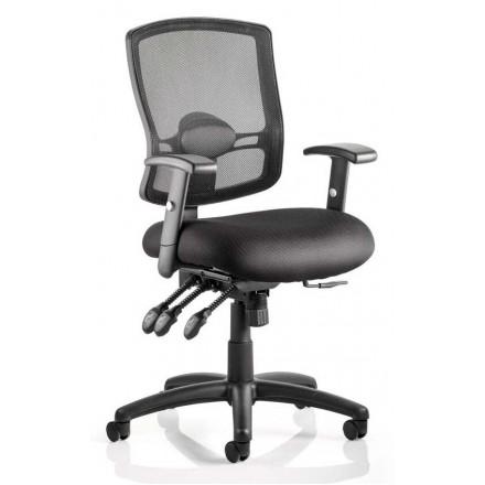 Portland III Mesh Back Task Operator Chair with Arms