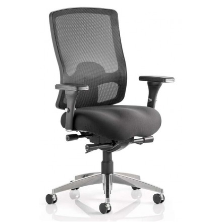 Regent Mesh High Back Task Operator Chair with Arms