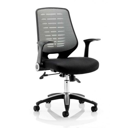 Relay Mesh Back Task Operator Chair with Arms