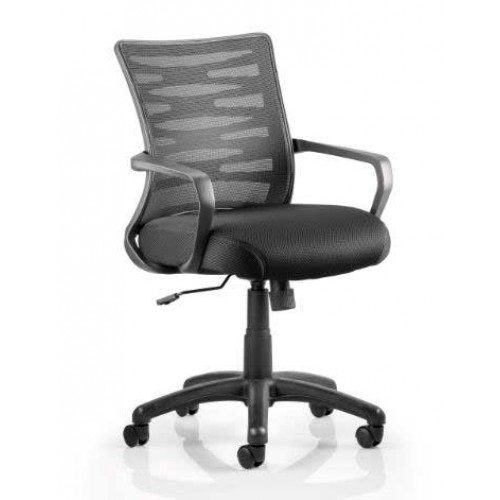Vortex Mesh Back Task Operator Chair with Arms
