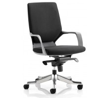 Xenon Fabric Medium Back Executive Chair with Arms