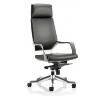 Xenon Leather Medium Back Executive Chair with Arms