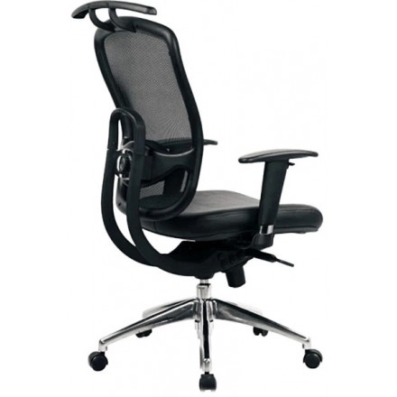 Freedom Mesh High Back Executive Chair with Coat Hanger