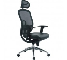 Liberty Mesh High Back Executive Chair with Adjustable Headrest