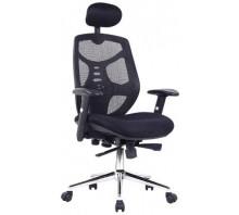 Polaris Mesh High Back Executive Armchair with Adjustable Headrest