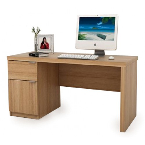 Single Pedestal Computer Desk - Jonus