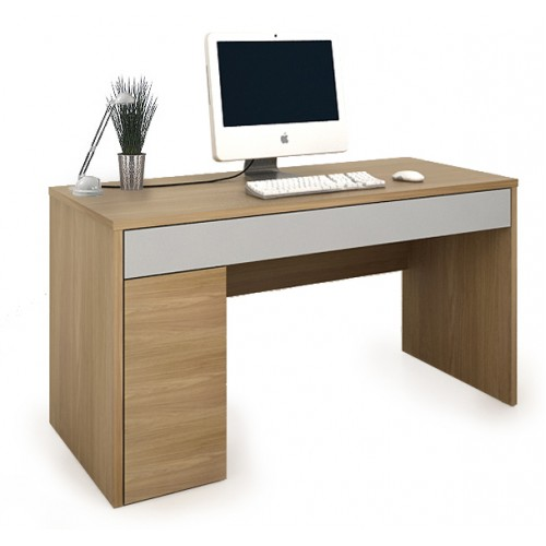 Single Pedestal Computer Desk - Colorado