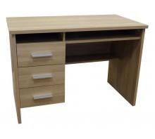 Single Pedestal Computer Desk - Montana