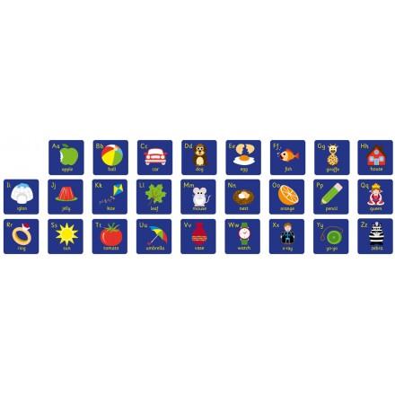 Alphabet Mini Placement Carpets