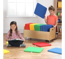 Rainbow Square Cushions & Tuf 2™ Trolley