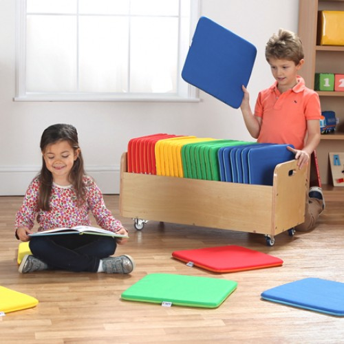 Rainbow Square Cushions & Tuf 2™ Trolley