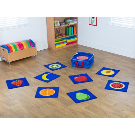 Fruit Mini Placement Carpets with holdall