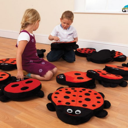 Back to Nature™: Ladybird Counting Story Cushions
