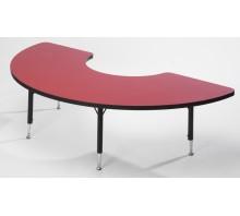 Tuf-Top Height Adjustable Arc Table