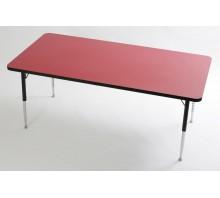Tuf-Top Height Adjustable Rectangular Table