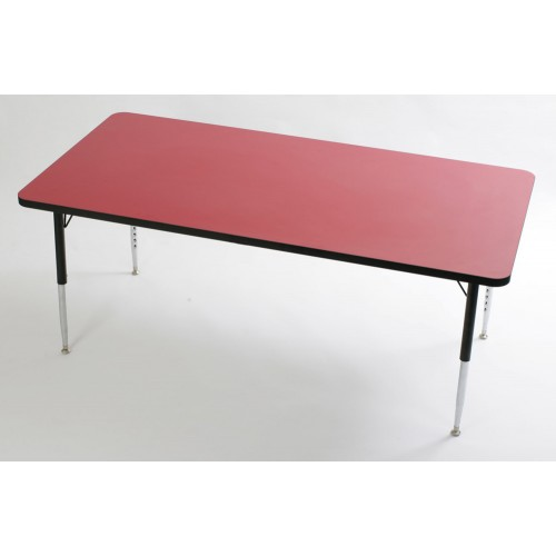 Tuf-Top Height Adjustable Rectangular Table