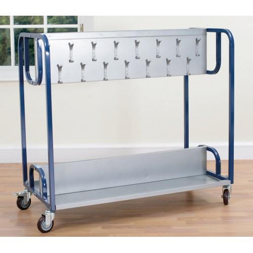 Tuf Classroom Mobile Cloakroom Trolley