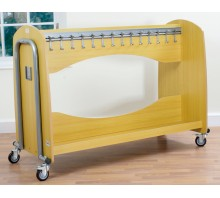 Tech2 Mobile Cloakroom Trolley
