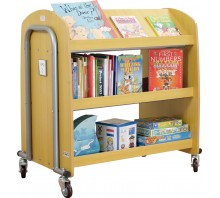 Tech2 Double-Sided Book Trolley