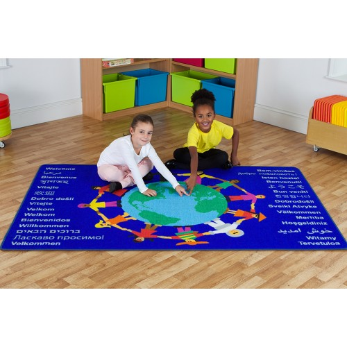 Multi-Cultural Welcome Carpet