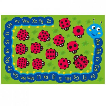 Back to Nature™ Chloe Caterpillar Numeracy & Literacy Carpet
