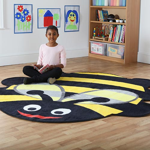 Back to Nature™ Bumble Bee Shaped Indoor Carpet